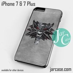 The witcher game logo Phone case for iPhone 7 and 7 Plus