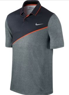Nike Momentum 26 Golf Polo Shirt - Made from Dri-FIT fabric and ergonomic seams for a comfortable fit and natural range of motion on the course. Camisa Polo, Camisa Nike, Mens Nike Golf Shoes, Mens Golf Fashion, Polo Shirt Design, Summer Outfits Men, Golf Polo Shirts, Golf Outfit, Shirt Designs