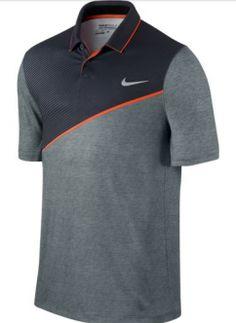 EL polo de golf para hombre Nike Slim Momentum 26 está confeccionado con un tejido Dri-FIT y costuras ergonómicas que proporcionan un ajuste cómodo y una libertad de movimiento natural en el campo