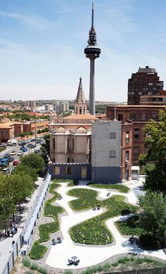 Jardin O'Donell by Paula Caballero & Diego Colon de Carbajal (Madrid, España)