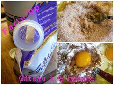 Gâteau à la banane microondes - un brin de......tulipe_isa Brin, Breakfast, Desserts, Photos, Food, Tulip, Kitchens, Morning Coffee, Tailgate Desserts