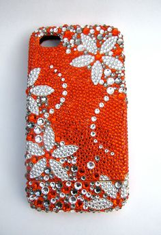 Red cell phone cover