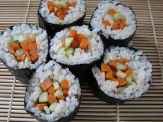 Made some Korean Sushi. Not perfect but tastes great!