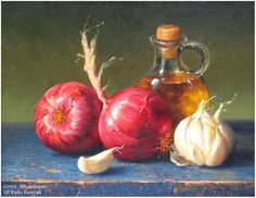 Garlic & Onions by Alfredo Gomez.