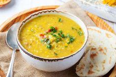Cure detox : Personnalisez votre detox avec l'ayurveda Curried Lentil Soup, Red Lentil Soup, Lentil Curry, Curry Soup, Dhal Recipe, Protein Lunch, High Protein, Instant Potatoes, Indian Recipes