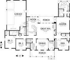 Renville 4324 - 3 Bedrooms and 2.5 Baths | The House Designers