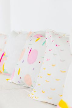 DIY Pattern Throw Pillows