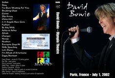 David Bowie 2002-07-01 Live in Paris 2002  - Olympia,Paris, France,French Arte T.V. Music Planet Special