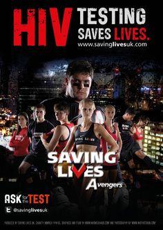 Vicki Hawkins and the #savinglives Avengers   #HIVTesting #SavesLives  www.savinglivesuk.com @savinglivesuk