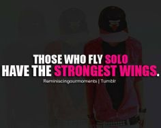 Those Who Fly Solo