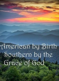 Southern by the grace of God! Blue Ridge Parkway, Blue Ridge Mountains, Nc Mountains, Parkway Drive, Beautiful World, Beautiful Places, Beautiful Sunset, Beautiful Scenery, Beautiful Beautiful