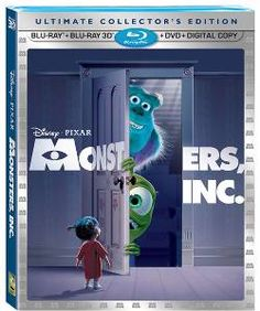 Keith and I watched Monsters Inc. in 3D to get ready for our Disney World trip!