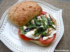 Caprese Sandwich | Moore Cookin