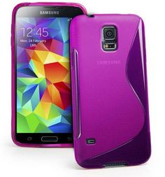 Galaxy S5 Case, Galaxy S5 Cases - Compatible With Samsung Galaxy S5 SV S IV i9600 - Soft Shell Cover Skin Cases By Cable and Case - Purple S5 Cases Cable And Case,http://www.amazon.com/dp/B00IZLN1YI/ref=cm_sw_r_pi_dp_zPcDtb0FE0Y1HRGB