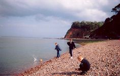 Beach at Shaldon, Devon - 2003