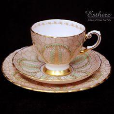 Tuscan 1940s Coffee Cup Trio