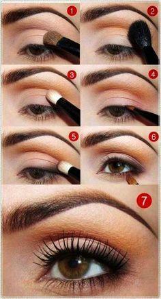Jolie Maquillage orange yeux avec Curly Lashes