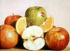 Realistic paintings by Jacques Bodin