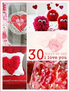 30 DIY Valentine Crafts and Projects