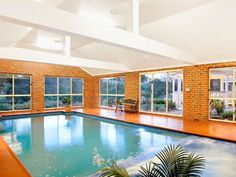 Indoor Residential Swimming Pools House Plans With Modern Designs