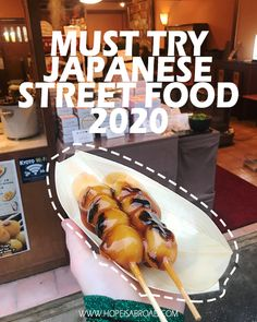 Must try Japanese street food in 2020 І HopeIsAbroad Japan Street Food, Thai Street Food, Indian Street Food, Spicy Recipes, Vegetarian Recipes, Popular Recipes, Popular Food, Sushi Donuts, Food Truck Business