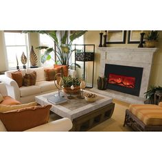 Amantii Large Electric Fireplace Insert | Electric fireplaces ...