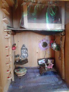 Inside fairy house. Made by PeejBeej.