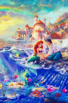 Super Drawing Disney Pixar The Little Mermaid Ideas Ariel Disney, Disney Magic, Disney Dream, Princesa Ariel Da Disney, Disney Amor, Walt Disney, Disney Little Mermaids, The Little Mermaid, Disney Princess