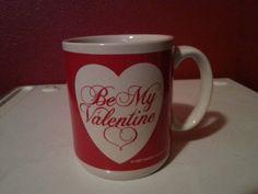 1989 Red and White Be My Valentine  Mug by HolidaySurprises, $12.50