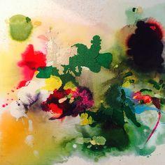 Yassine Mekhnache - Untitled, 70x70 cm