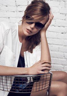 """Tiger of Sweden spring 2013 Campaign - """"Minimal elegance"""" - Frida Gustavsson - Hasse Nielsen"""