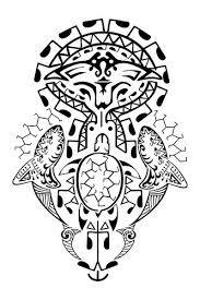 Resultado de imagem para tattoo maori na perna fechada