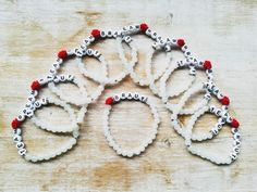Hochzeitsschmuck, Armbänder, Give aways, Polterabend Beaded Bracelets, Handmade, Jewelry, Wristlets, Hand Made, Jewlery, Jewerly, Pearl Bracelets, Schmuck