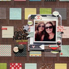 Sketch and layout by Nicole Nowosad for Lily Bee Design #lilybeedesign #scrapbooking #sketch #lilybee