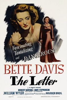 the letter, william wyler