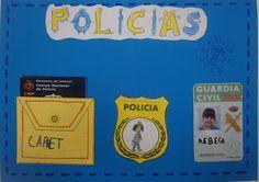 LA CLASE DE MIREN: mis experiencias en el aula: PROYECTO POLICÍAS Y LADRONES: PORTADA Y CONTRAPORTADA