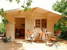 Affordable Kit Cabins= how cute! would love a little home studio or guest house outside of my home