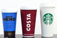 Caffe Nero, Costa and Starbucks are all cutting the sugar levels in their festive drinks b...