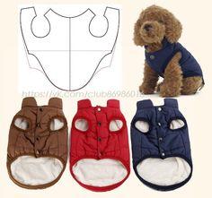 Sphynx Cat Clothes, Dog Coat Pattern, Sewing Collars, Small Dog Clothes, Dog Clothes Patterns, Cat Dresses, Crochet Doll Clothes, Dog Jacket, Dog Sweaters