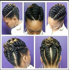 Intricate Flat Twist