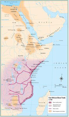 Escravismo na África Oriental em 1500