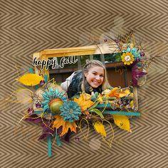 ~~ Autumn splendor ~~ NEW by Palvinka Designs http://shop.scrapbookgraphics.com/Palvinka-Designs/
