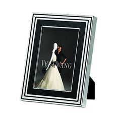 With Love Noir Foto ramme 10x15 cm - Vera Wang - Wedgwood - RoyalDesign.no