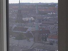 View from the floor in an office building Bricks, Copenhagen, City Photo, Copper, Flooring, Street, Building, Brick, Buildings
