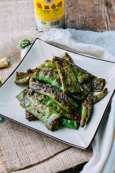 Tiger skin peppers or hu pi jian jiao (虎皮尖椒) is a popular Sichuan dish. The name of this quick and easy dish comes from the color of the peppers after they've been seared in a hot wok.