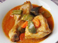 Andreíta come de todo: Pollo colorao