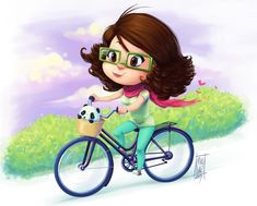 me riding my bike by *KarlaDiazC on deviantART