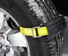 Ensure you never get stranded no matter what terrain or weather conditions you drive in with these tire traction blocks. They're a quick, simple and effective solution to getting your car out of mud, snow or sand. Keep them in your car for emergencies and peace of mind.