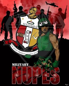 Kappa Alpha Psi Fraternity Incorporated-military members- named The Nupes! Kappa Alpha Psi Fraternity, Divine Nine, Greek Culture, Family Values, Greek Life, Military, Sons, Diamonds, Husband