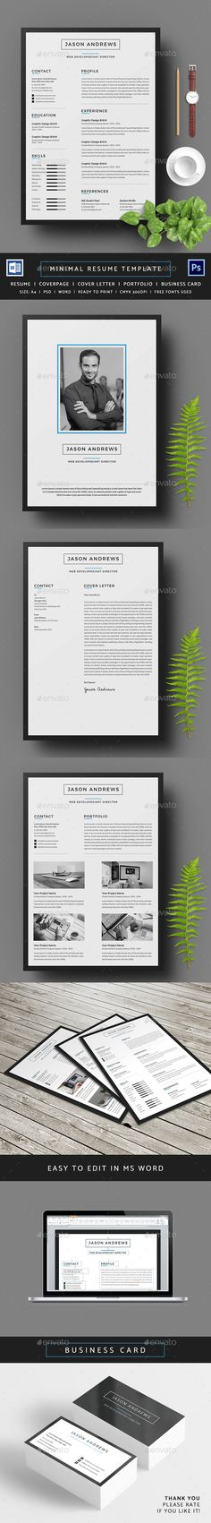 Resume Template Cv template, Resume cv and Creative cv template - easy resumes